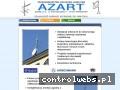 Screenshot strony www.azart.com.pl