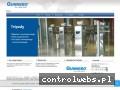 Screenshot strony www.bramkigunnebo.pl