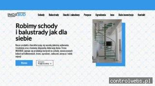 Inoxbud Warszawa nowoczesne balustrady balkonowe