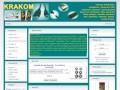 Screenshot strony www.krakom.pl