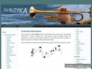 Serwis o muzyce i instrumentach muzycznych