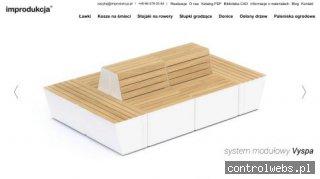 Paleniska ogrodowe i mała architektura - oferta Im-Produkcja