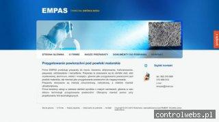 EMPAS M. TRELA Chemiczna obróbka metali