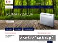 Screenshot strony ekowent-wentylacja.com.pl