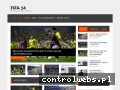 Screenshot strony fifa-14.com.pl