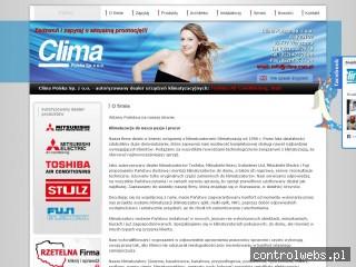 Clima Polska Warszawa klimatyzatory pokojowe