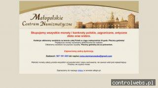 Małopolskie Centrum Numizmatyczne sprzedaż monet