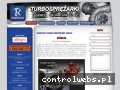 Screenshot strony www.turbosprezarki.biz