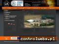 Screenshot strony lisiekaty.pl