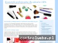 Screenshot strony kosmetykispa.com
