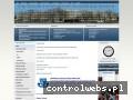 Screenshot strony www.zs4.wroc.pl