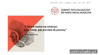 Marta Melka-Roszczyk - psychoterapeuta Poznań