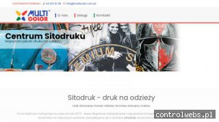 Sitodruk, sitodruk Łódź | Multicolor