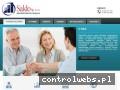 Screenshot strony www.biurorachunkowe-saldo.pl