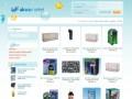 Screenshot strony www.akwamarket.pl