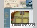 Screenshot strony www.cannex.pl