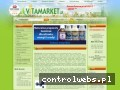 Screenshot strony vitamarket.pl