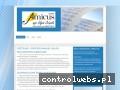 Screenshot strony www.amicus.czest.pl