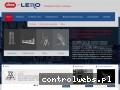 Screenshot strony www.altrex-lero.pl
