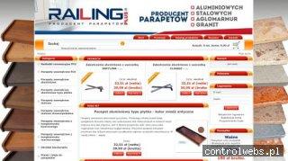 Producent parapetów aluminiowych oraz stalowych