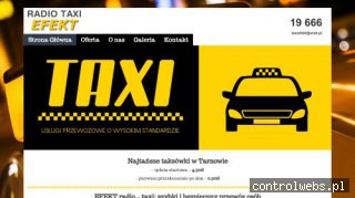 RADIO TAXI EFEKT taxi bagażowe