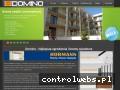 Screenshot strony www.domino-bramy.pl