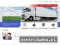 Screenshot strony transportdogrecji.org.pl