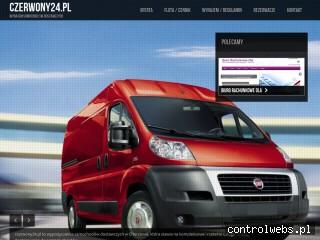 Wynajem dostawczych pojazdów- Czerwony24.