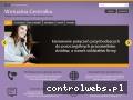 Screenshot strony www.wirtualnacentralka.pl