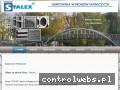 Screenshot strony stalex.net.pl