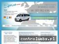 Screenshot strony www.sprintbus.eu