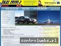 Screenshot strony radiotaxi919.com