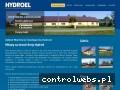 Screenshot strony www.hydroel.com.pl