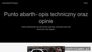 Www.abarth-driving.pl - szkoła doskonalenia jazdy