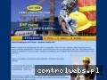 Screenshot strony www.safework.net.pl