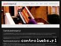Screenshot strony www.pianotransport.pl