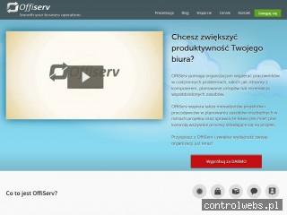 OffiServ - System wsparcia biura i projektów