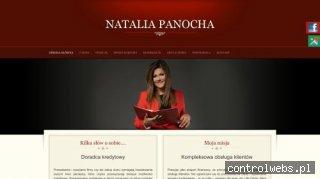 Doradca finansowy Natalia Panocha oferuje pomoc, Poznań