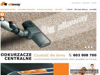 Allaway - odkurzacze centralne