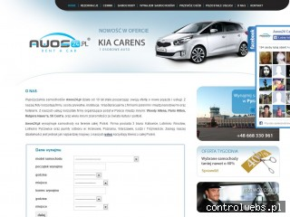 Wynajem samochodów na śluby w firmie Awos w mieście Kraków
