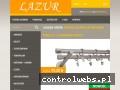 Screenshot strony www.lazur24.pl