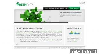 Freshdata - aplikacje internetowe