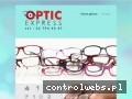 OPTIC-EXPRESS badanie wzroku