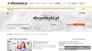 Abcpolityki - polityczny news