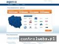 Screenshot strony firmy-ubezpieczeniowe.agento.pl