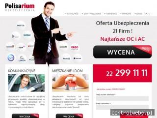 ubezpieczenia-warszawa.com.pl - tanie ubezpieczenia OC i AC