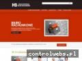 Screenshot strony www.biuro-bojarowska.pl