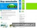 Screenshot strony www.skup-samochodowx.pl