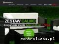 Screenshot strony zestaw-calmo.pl