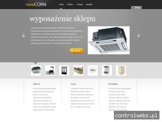 Meble sklepowe NewCorn - Regały wysokiego składowania